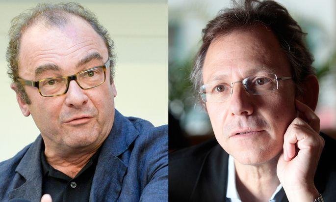 Robert Menasse und Doron Rabinovici