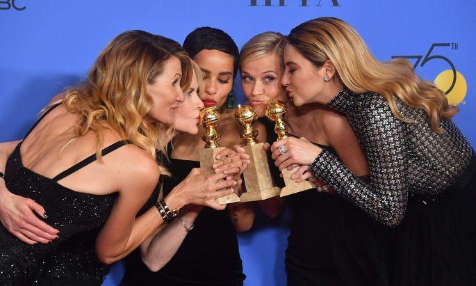 Laura Dern, Nicole Kidman, Zoe Kravitz, Reese Witherspoon und Shailene Woodley