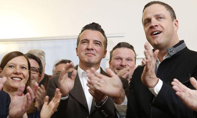 FPÖ-Spitzenkandidat Darmann