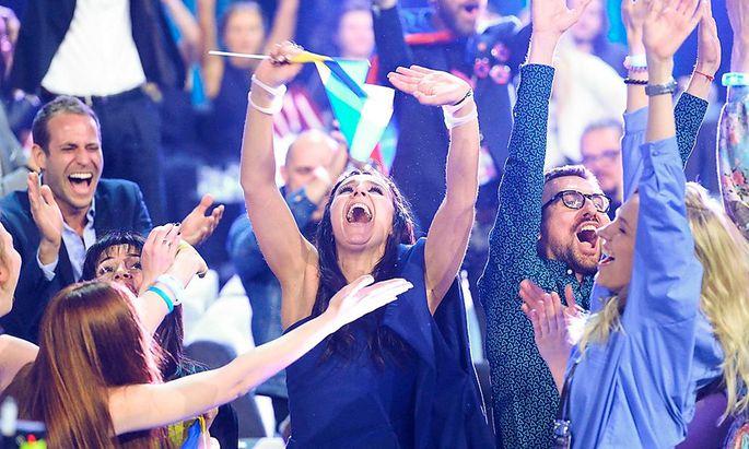 Jamala, die Siegerin des ESC 2016