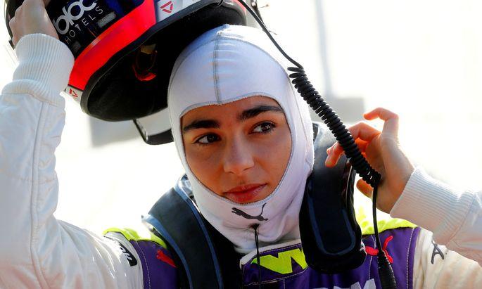 Hat sie den nötigen Speed? Rennfahrerin Jamie Chadwick.