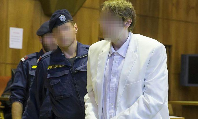 Fünfter Prozesstag in Graz, Alen R. steht vor Gericht. (Foto vom 1.Prozesstag in der Vorwoche).