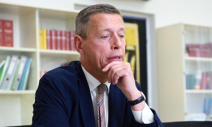 Justizressort-Sektionschef Christian Pilnacek wurde suspendiert.
