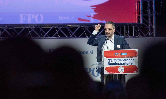 Als Abgeordneter genießt der FPÖ-Klubobmann die parlamentarische Immunität.