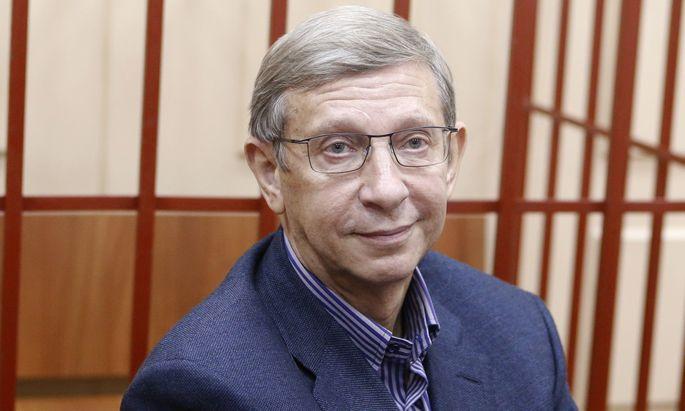 Wladimir Jewtuschenkow, angezählt.