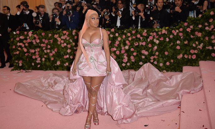 Nicki Minaj bei der Met Gala im Mai 2019.