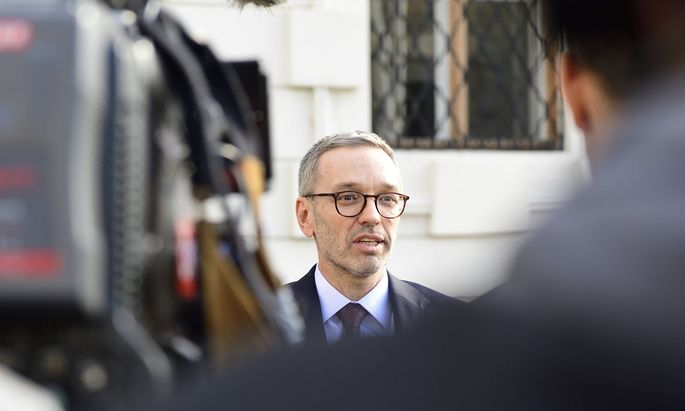 FPÖ-Chef Herbert Kickl