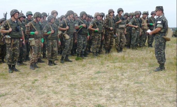 Männer der 25. Luftlandebrigade