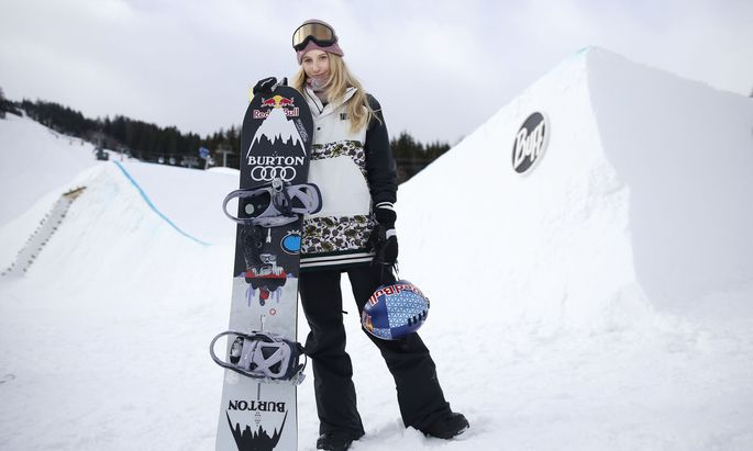 Das Snowboarden ist für Anna Gasser mehr als nur der Job.