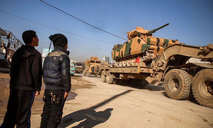 Bis zu 35 syrische Soldaten bei türkischen Angriffen getötet