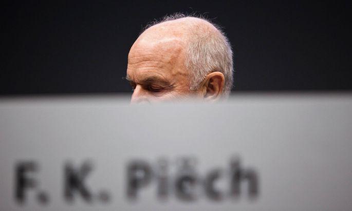 Ferdinand Piech Aufsichtsratsvorsitzender Volkswagen AG anl�sslich der Hauptversammlung der Aktion