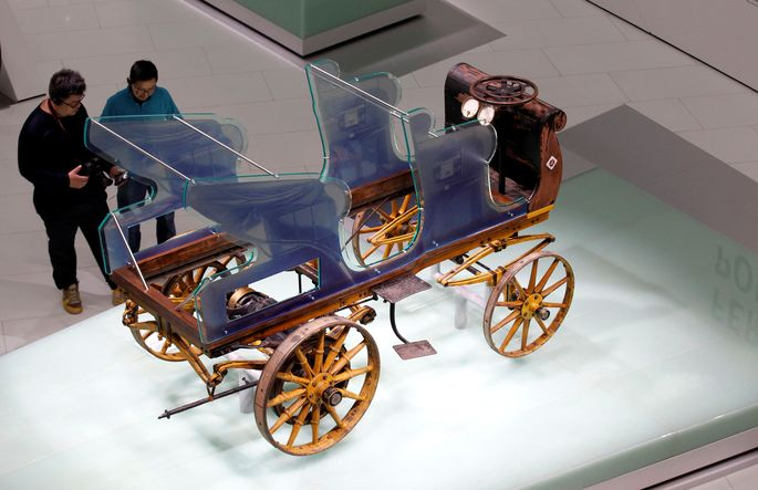 Egger-Lohner-Elektromobil Modell C.2 Phaeton: Ferdinand Porsches Konstruktion, 1898.