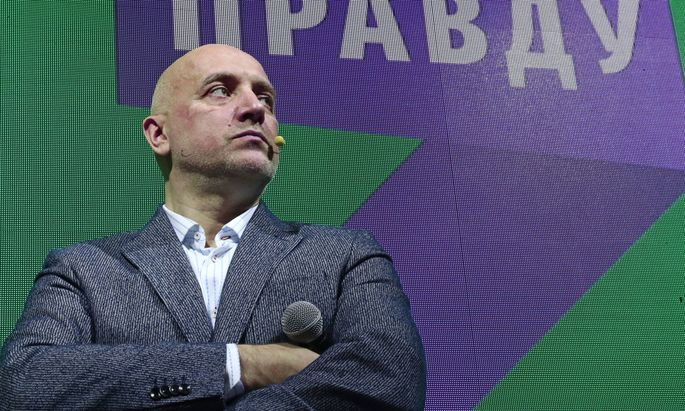 Zakhar Prilepin.