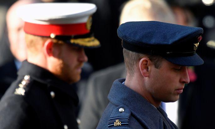 Prinz William und Prinz Harry sollen nicht mehr gut aufeinander zu sprechen sein.