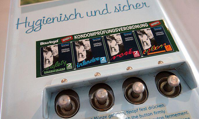 Symbolbild Kondomautomat