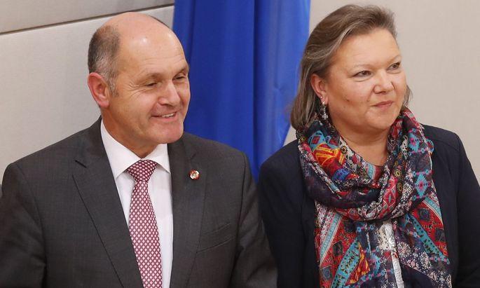 Wolfgang Sobotka und Anneliese Kitzmüller