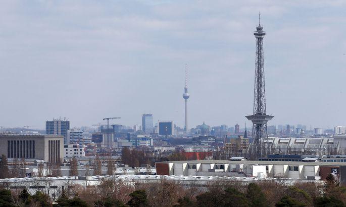 Symbolbild: Die Skyline von Berlin