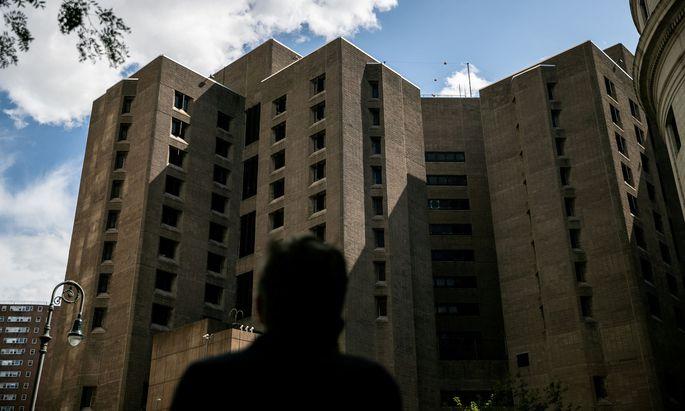 Mitten in Manhattan: In diesem Gefängnis war Jeffrey Epstein inhaftiert.