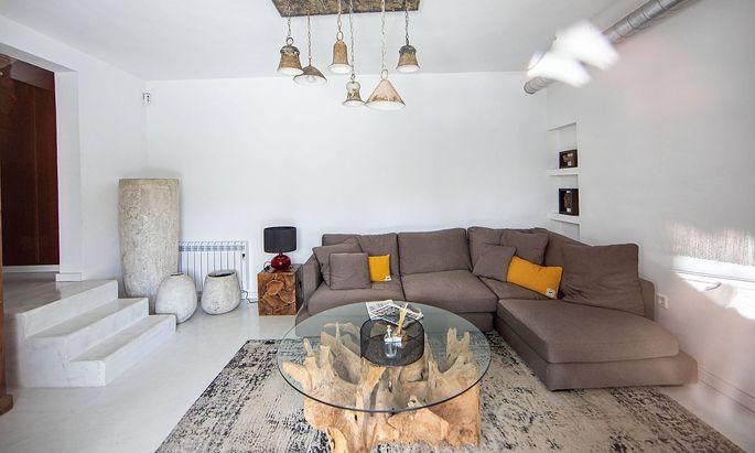 Die Villa auf Ibiza, in der das heimlich gefilmte Video entstand