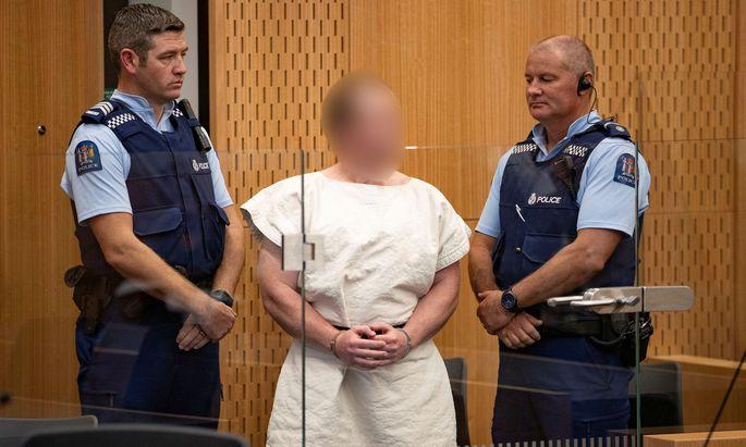 Brenton Tarrant vor Gericht