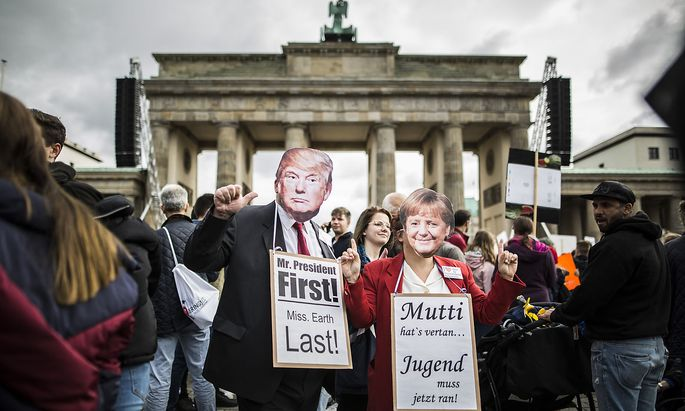 Weltweite Demonstration unter dem Motto Alle fuers Klima , initiiert der Klimaaktivisten von Fridays for Future am Bran