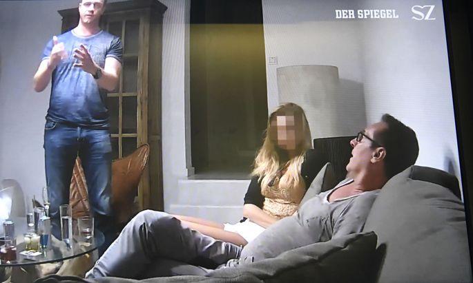 Ausschnitt aus dem Ibiza-Video.