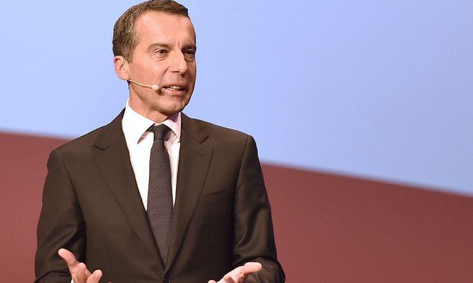 SPÖ-Kanzler Christian Kern.
