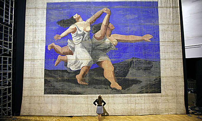 Picassos groesstes Gemaelde erstmals