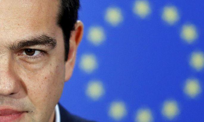 Der griechische Regierungschef Alexis Tsipras