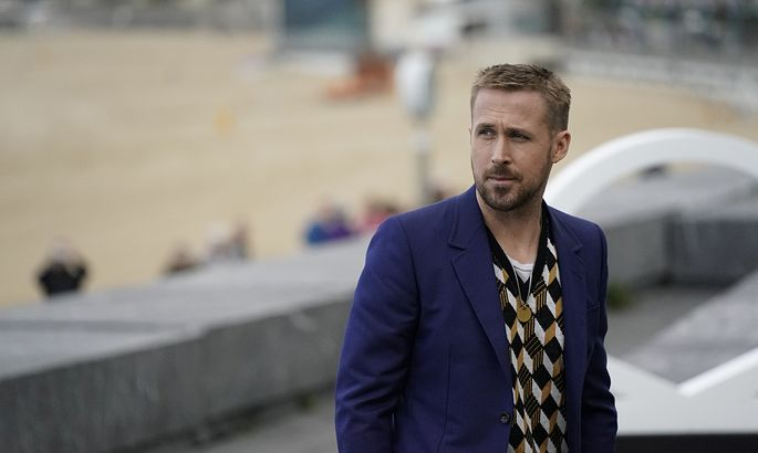 Canadian actor Ryan Gosling takes part in a photo call to promote the feature film ´First Man´ at the San Sebastian Film Festival