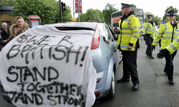 London Festnahmen nach mutmasslichem