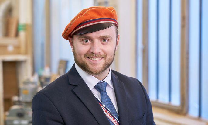 CV-Vorortspräsident Stefan Grüneis