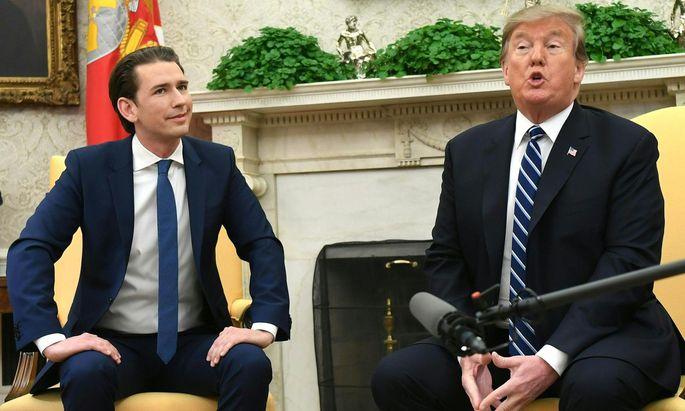 """US-Präsident deponierte vor Treffen mit Kurz: Neue """"Strafmaßnahmen"""" geprüft"""