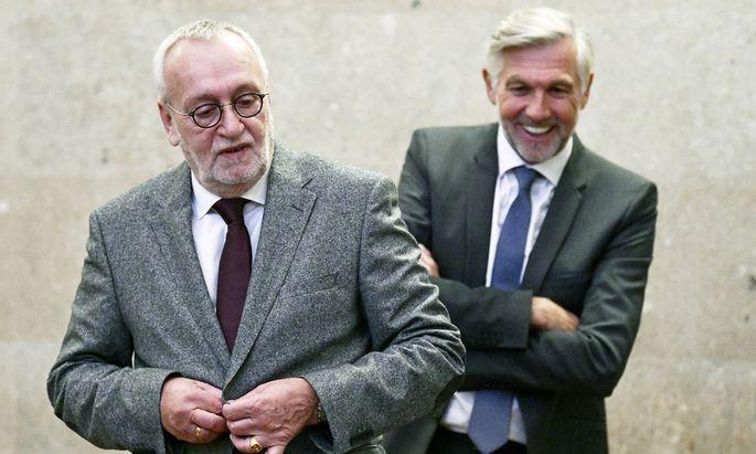 Rudolf Fischer und Walter Meischberger