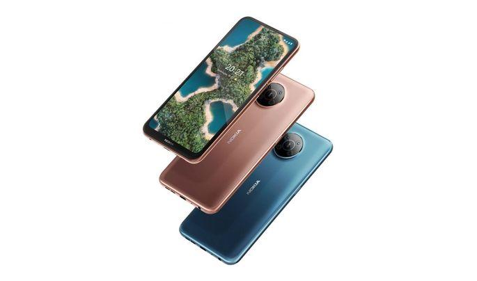 Das Nokia X20 ist in den Farben Bronze und Petrol erhältlich.