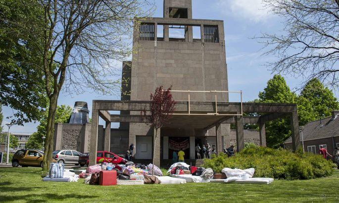 In der Vluchtkerk im Westen von Amsterdam waren die Flüchtlinge von Dezember 2012 bis Juni 2013 untergebracht.