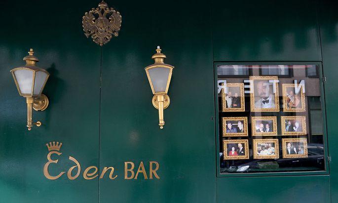 Die Eden Bar in der Liliengasse 2 in der Wiener Innenstadt blickt auf eine 106-jährige Geschichte zurück.
