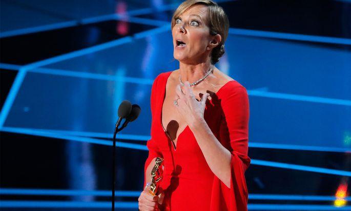Oscar-Preisträgerin Allison Janney ist überwältigt.