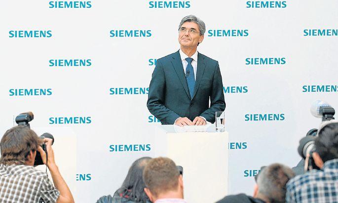 Siemens Weltkonzern Hamsterrad