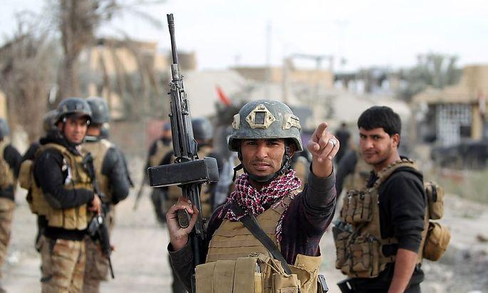 Irakische Sicherheitskräfte rücken in Ramadi ein