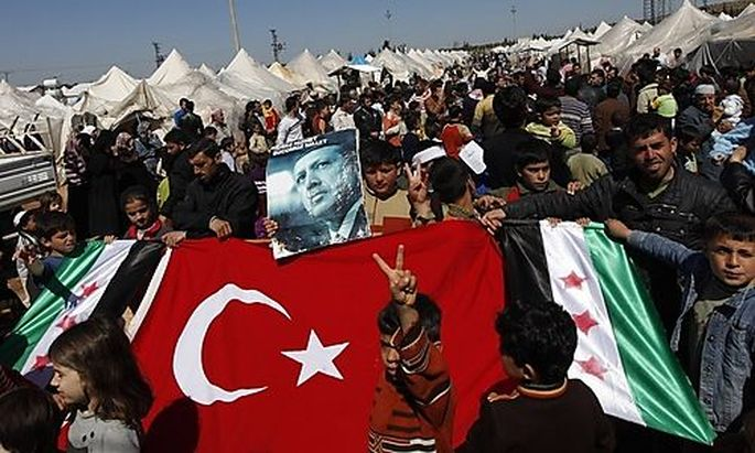 Syrische Flüchtlinge in der Türkei