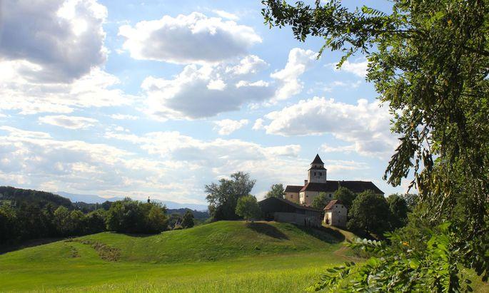 Die Wurzeln des Schlosses in Ehrenhausen reichen ins 12. Jahrhundert