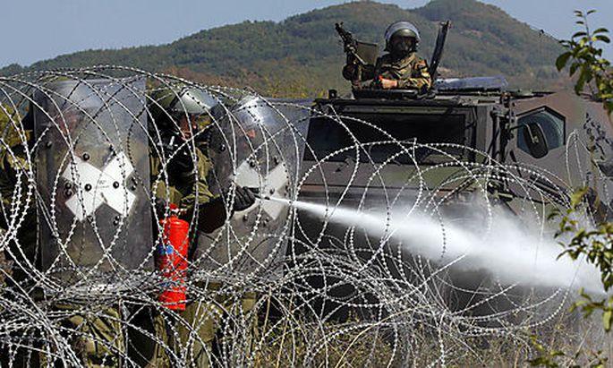 Krawalle im Kosovo: Sechs Personen verletzt