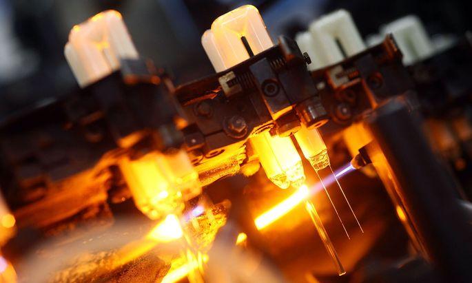 Osram Lampen-Produktion
