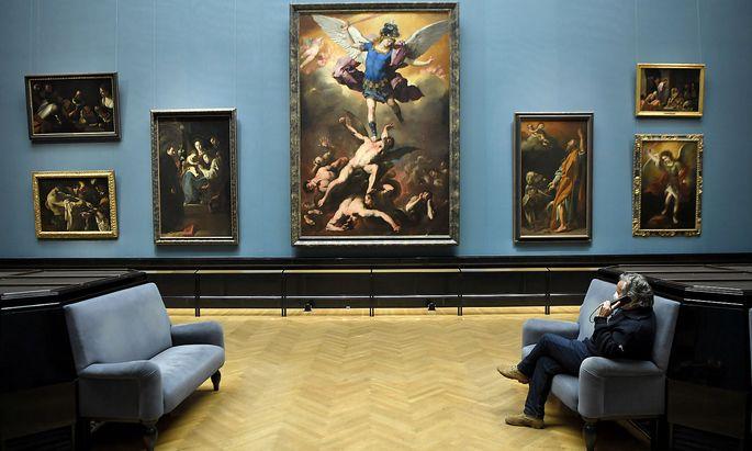 CORONA: MUSEENOeFFNUNG / KHM