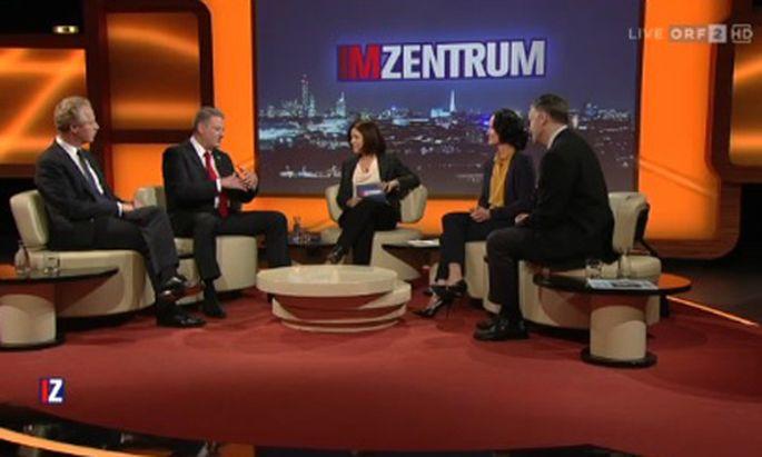 ORF-Sendung ''Im Zentrum''