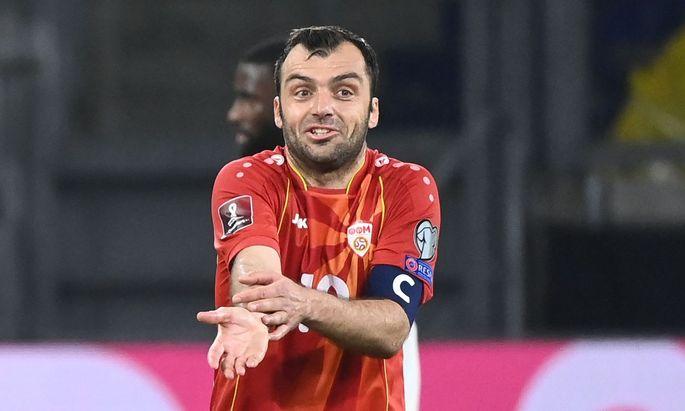 Hat die ÖFB-Defensive im Visier: Goran Pandev.