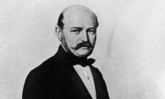 Ignaz Semmelweis wurde von der Ärzteschaft aus Wien geekelt.