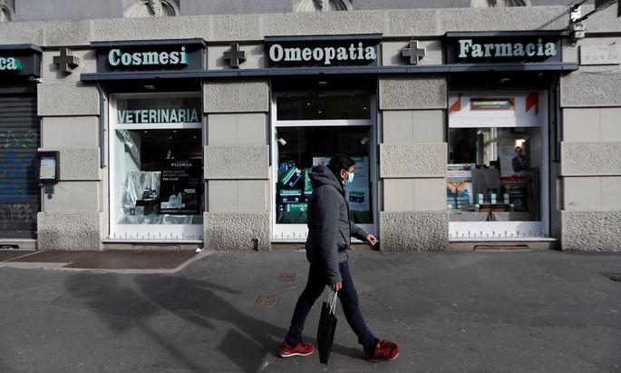 Das Virus lässt Europa in Richtung Rezession trudeln.