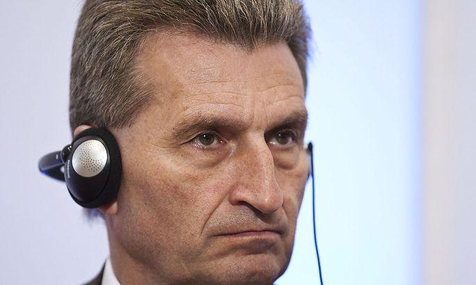 EU-Kommissar Günter Oettinger